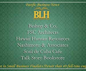 Finalist BLH Best in Small Business and Business Leader of the Year