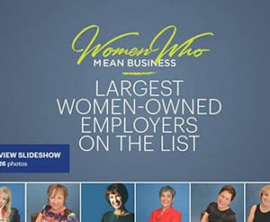 Judy and Bishop & Company honored at WWMB as largest women-owned business