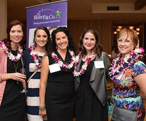 Judy Bishop honored at Pacific Business News' 2017 Women Who Mean Business event