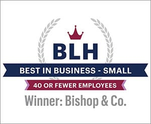 Pacific Business News' BLH event - Bishop & Company winner